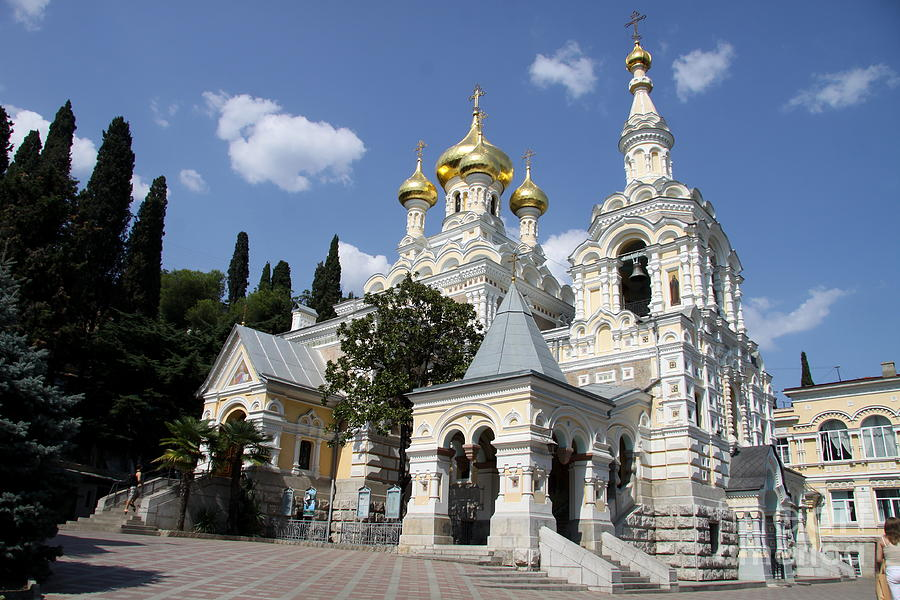 Alexander - Newski - Church - Yalta Photograph