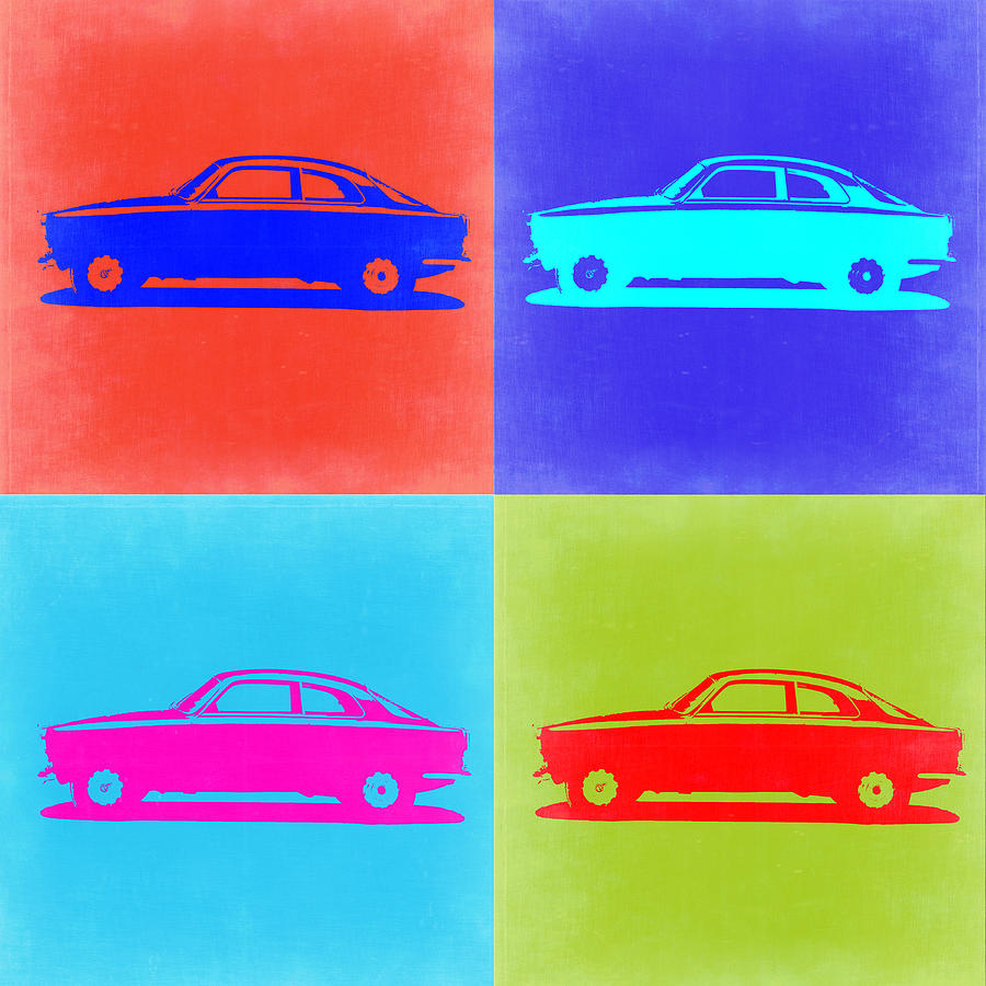 Alfa Romeo Gtv Pop Art 2 Painting
