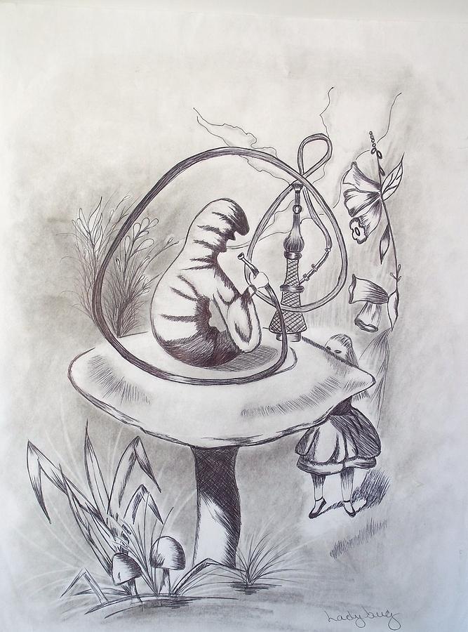 Alice And The Hookah Smoking  Alice In Wonderland Hookah