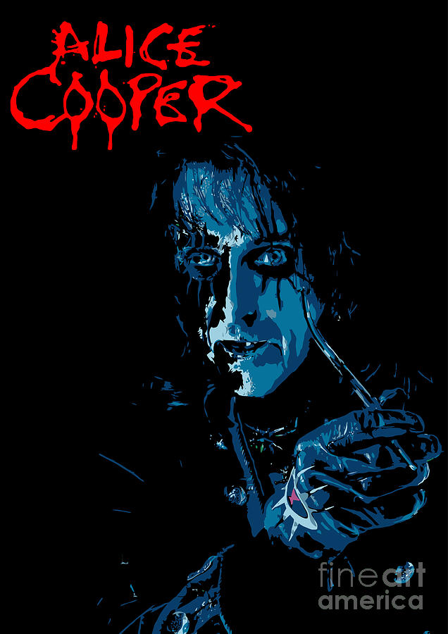 Alice Cooper Digital Art