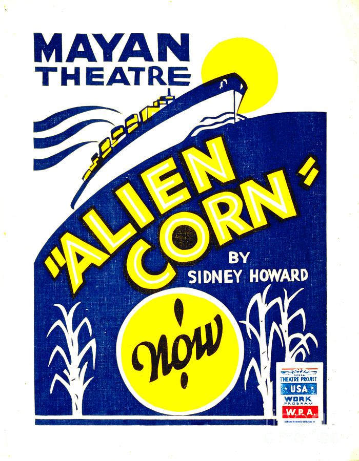 Alien Corn 1938 Photograph  - Alien Corn 1938 Fine Art Print