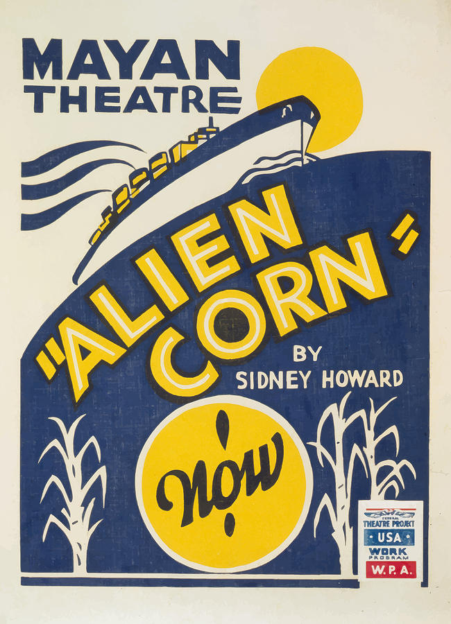 Alien Corn Painting