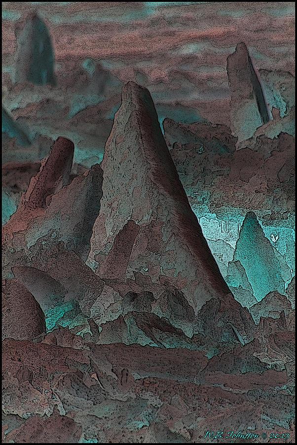 Alien Landscape Photograph
