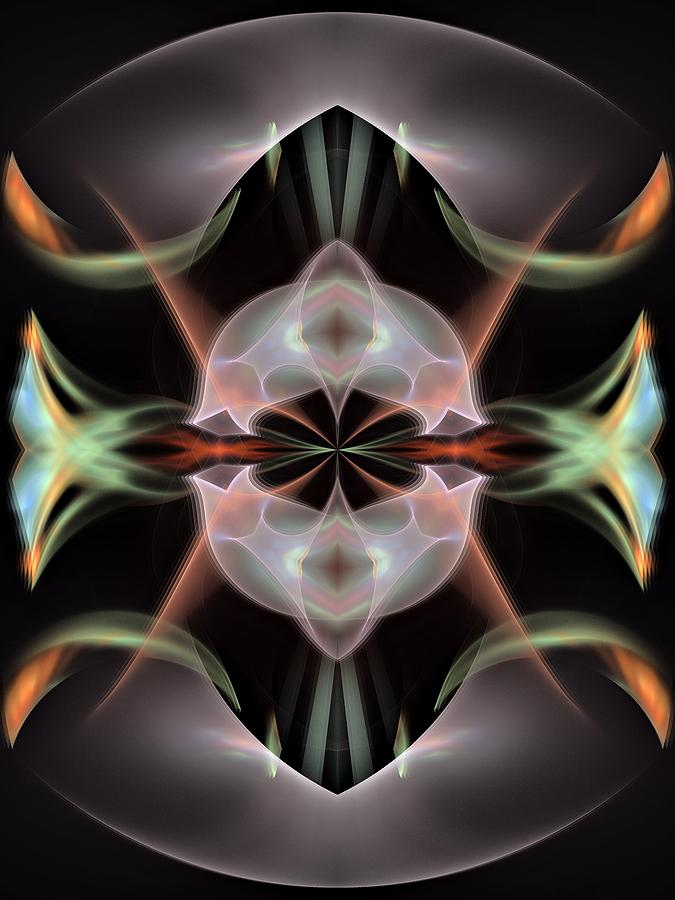 Alien-panel-left-or-right Digital Art  - Alien-panel-left-or-right Fine Art Print