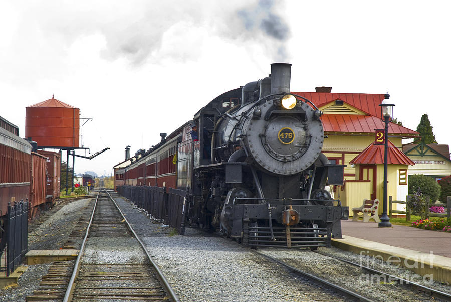 Strasburg Railroad Photograph - All Aboard by Paul W Faust -  Impressions of Light