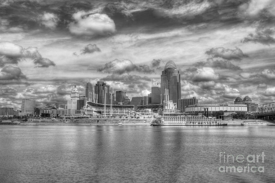 All American City 2 Bw Photograph  - All American City 2 Bw Fine Art Print