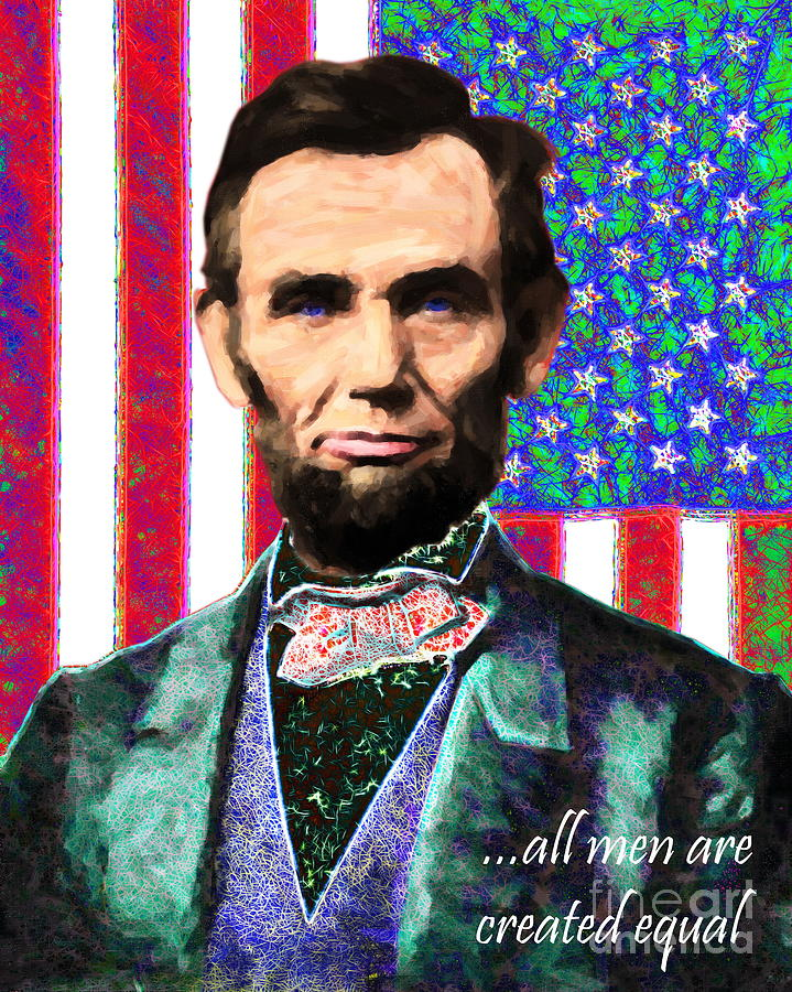 All Men Are Created Equal 20130115 Photograph  - All Men Are Created Equal 20130115 Fine Art Print