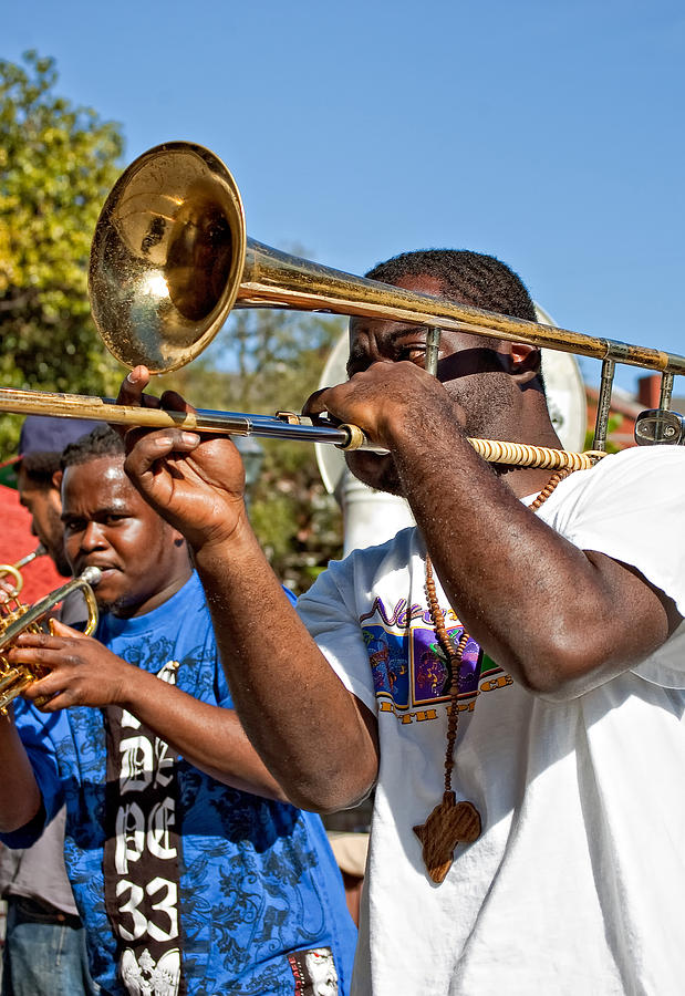 French Quarter Photograph - All That Jazz by Steve Harrington