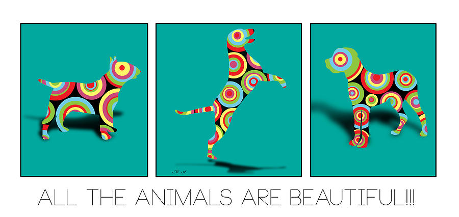 All The Animal Are Beautiful Digital Art