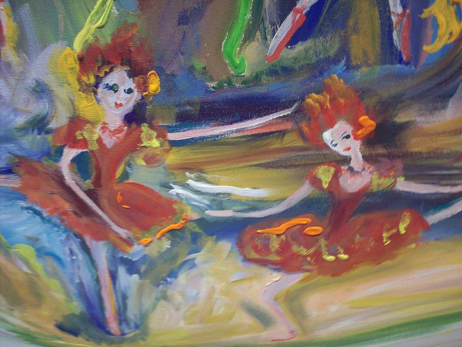 Allegro And Andante Painting