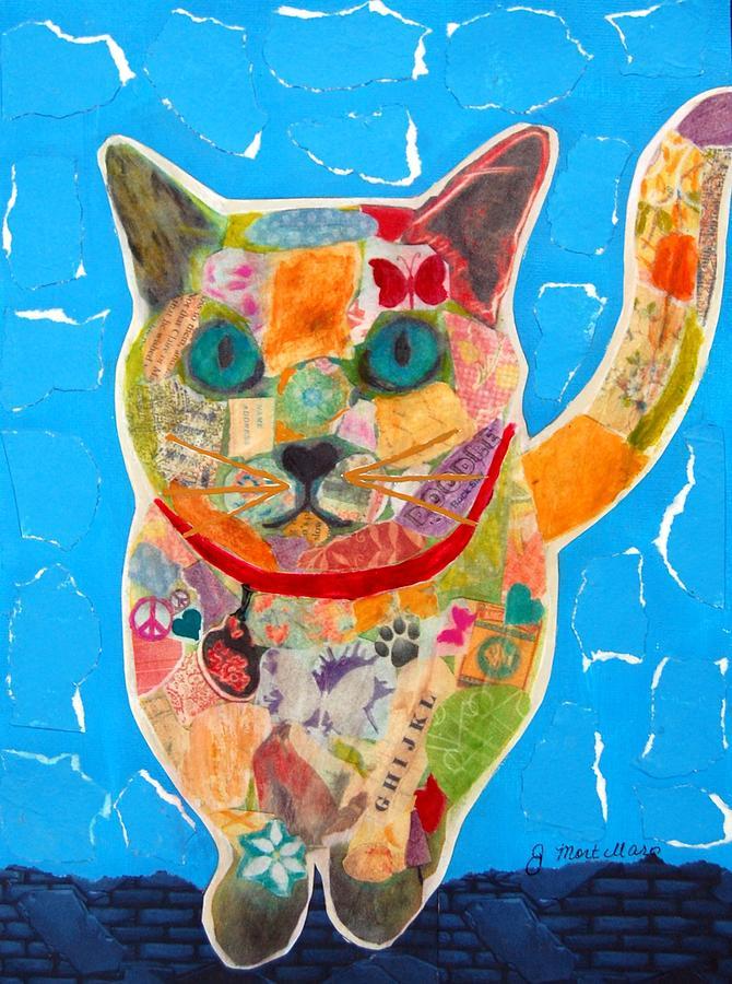 Alley Cat Mixed Media