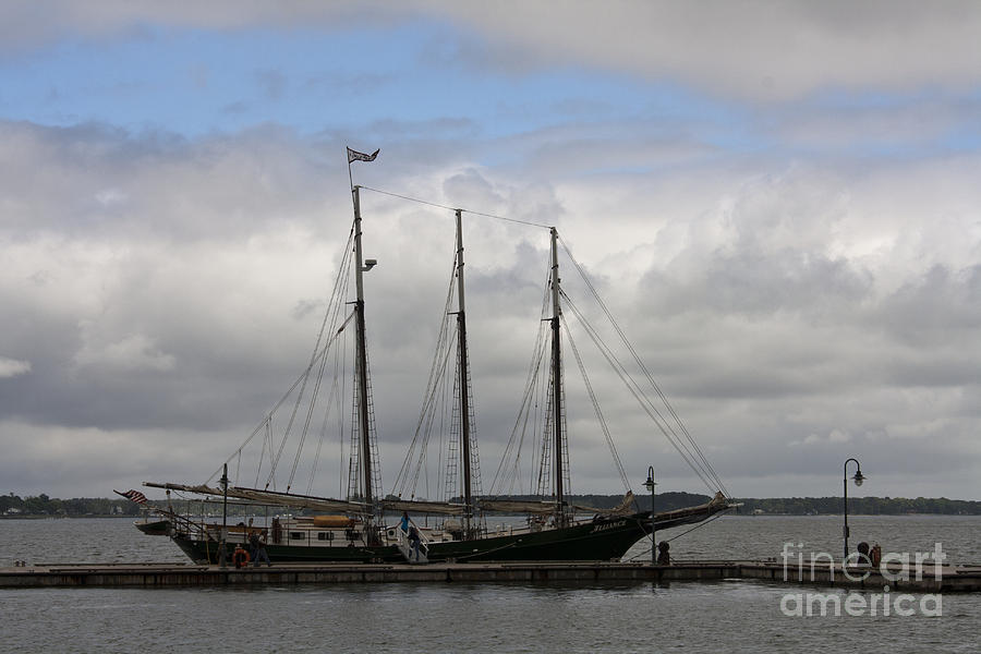 Alliance Schooner Photograph