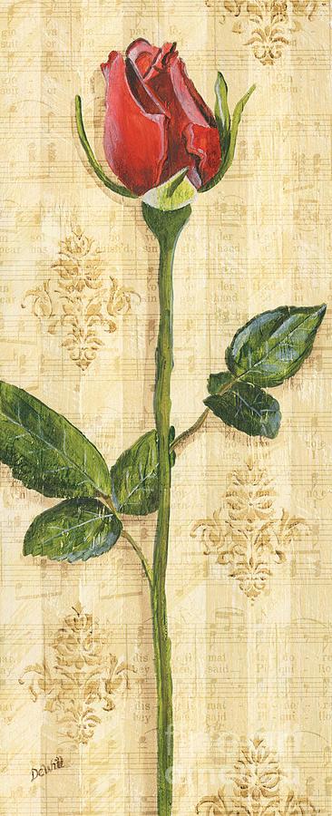Allies Rose Sonata 1 Painting