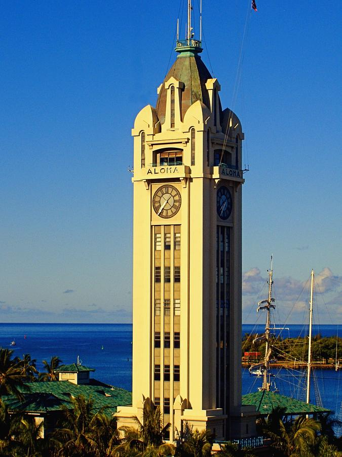 Aloha Tower is a photograph by Jenny Hudson which was uploaded on ...