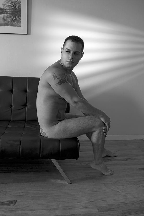 Gay Photograph - Alon by Mark Ashkenazi