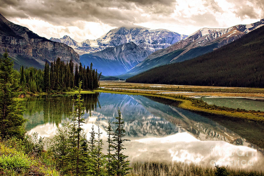 Along The Icefield Parkway Photograph