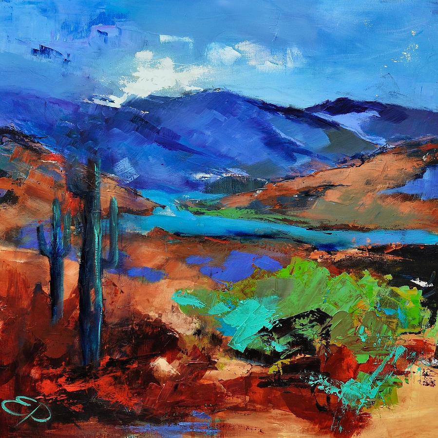 Along The Trail - Arizona Painting