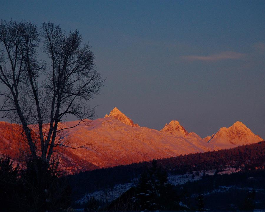 Alpine Glow Photograph