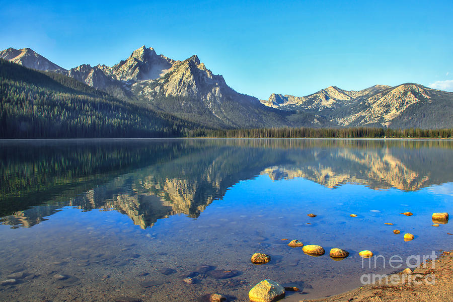 Rocky Mountains Photograph - Alpine Lake Reflections by Robert Bales