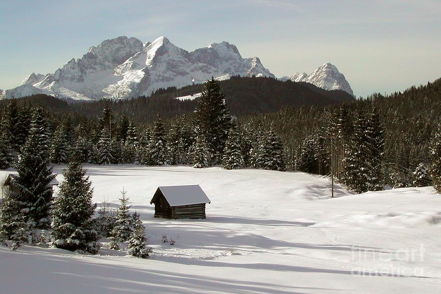 Alpine Winter Photograph