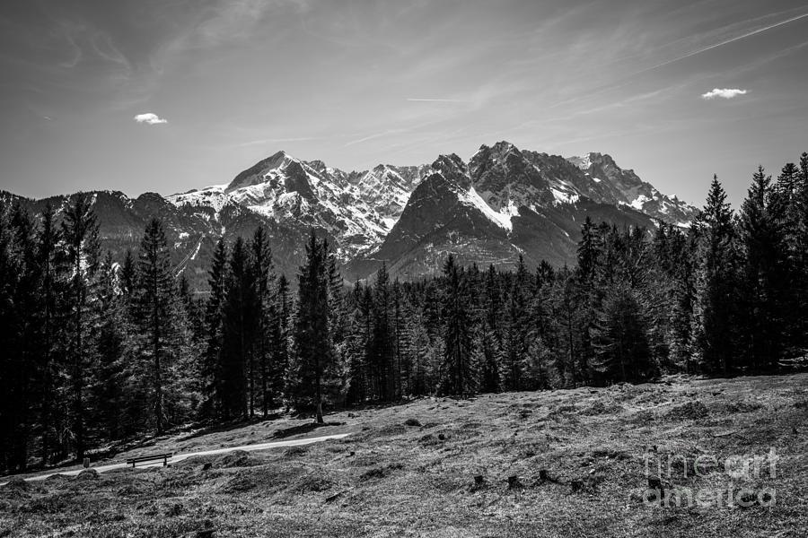 Alpspitze Till Zugspitze II Photograph