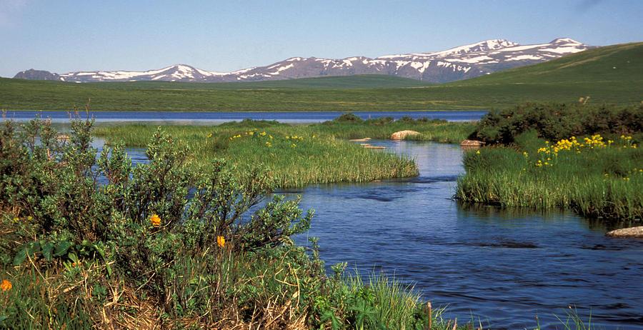 Altay. Lakes - Dzhulukul Photograph