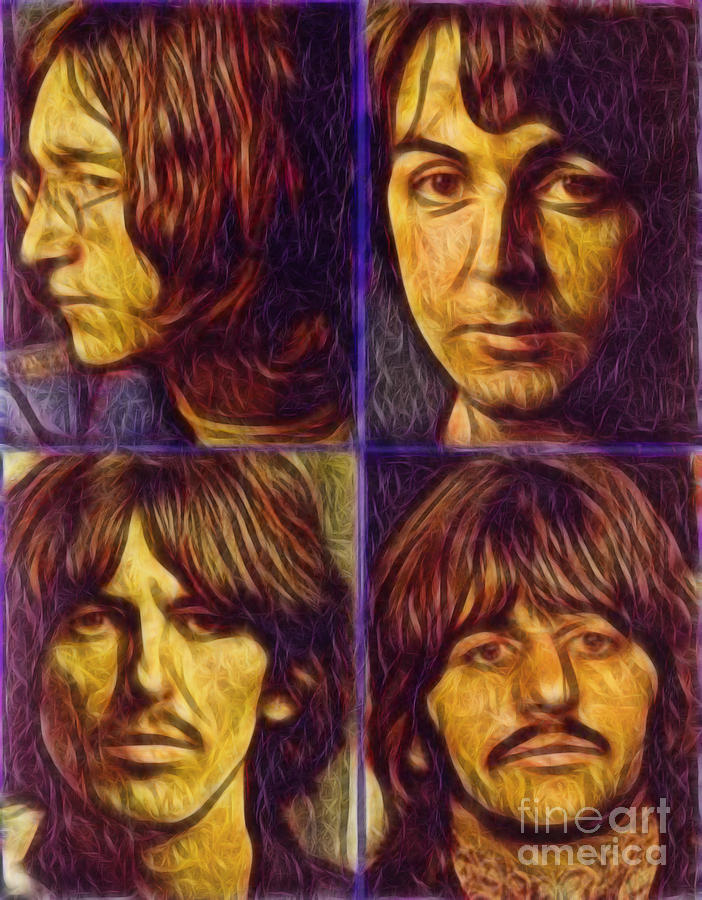 Alternative Beatles Digital Art