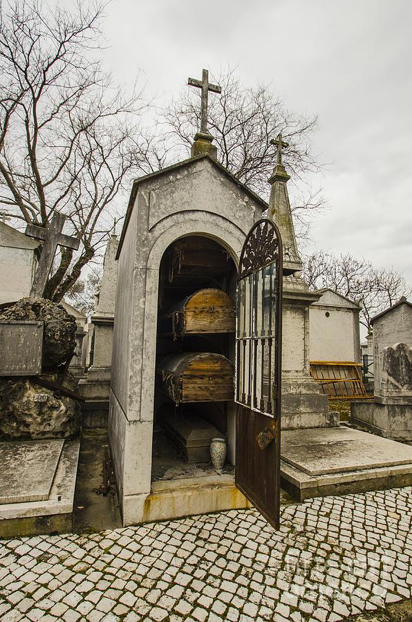 Alto Do Sao Joao Cemetery Open Mausoleum Photograph By