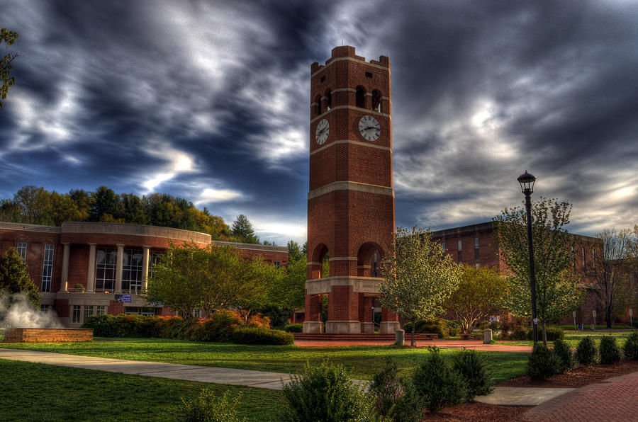 Alumni Tower-wcu Photograph  - Alumni Tower-wcu Fine Art Print