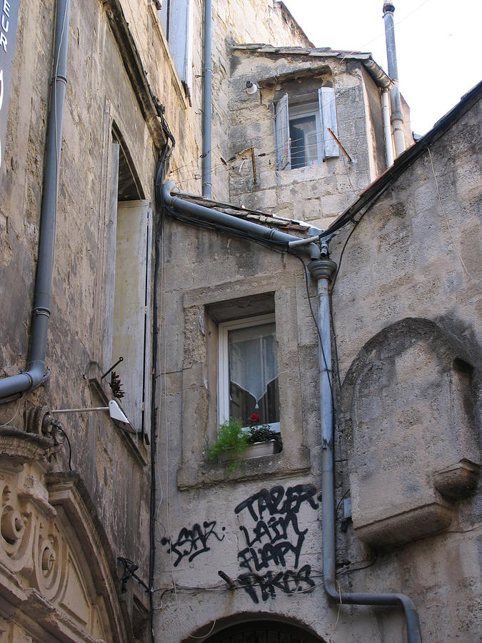 French Architecture Photograph - Always A Surprize In Small French Towns by Penelope Aiello