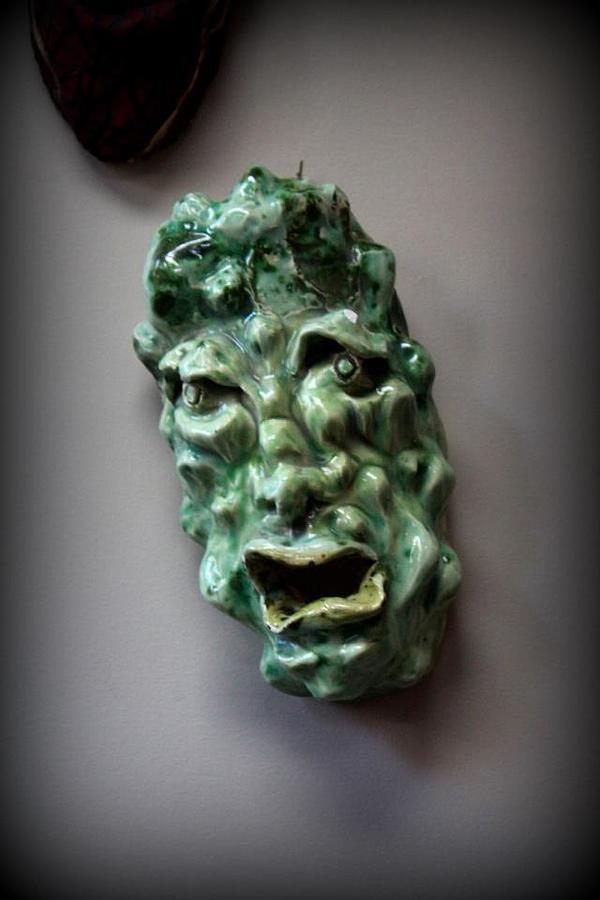 Ceramic Art - Amadahi-forrest Water by Wynter Peguero