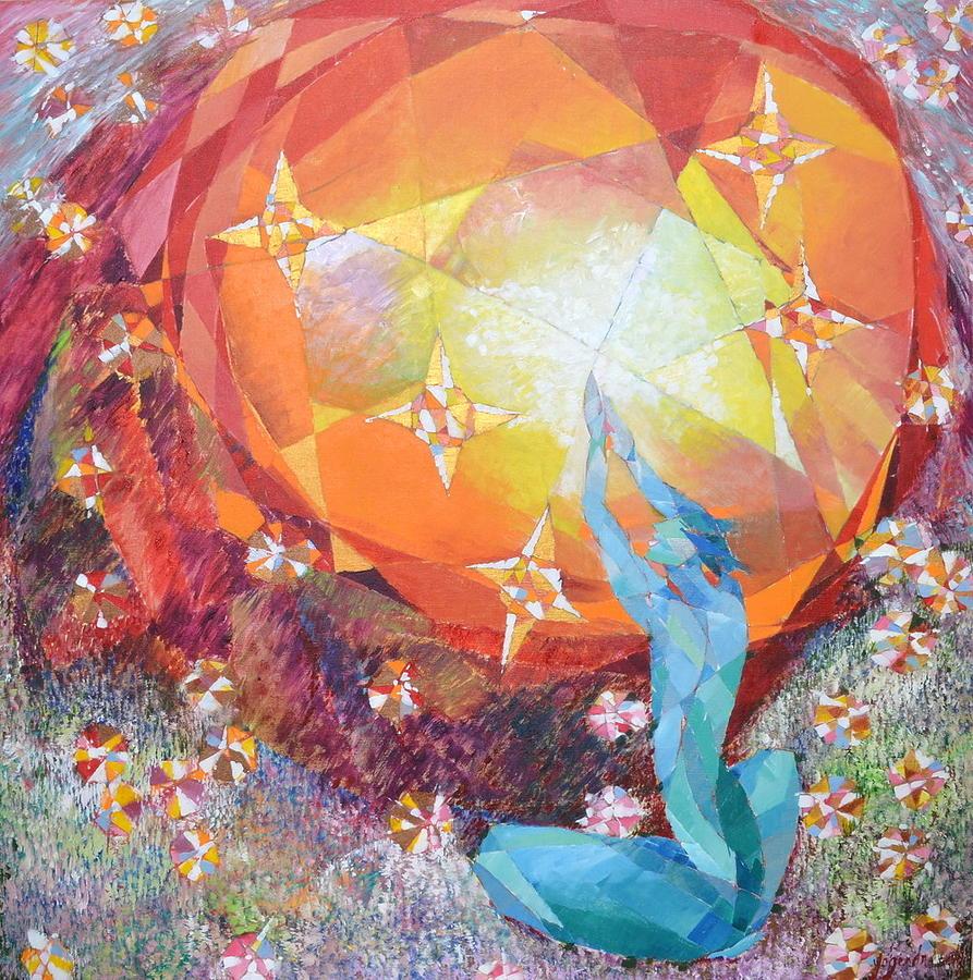 Everlasting Painting - Amaranthine by Yogendra  Sethi