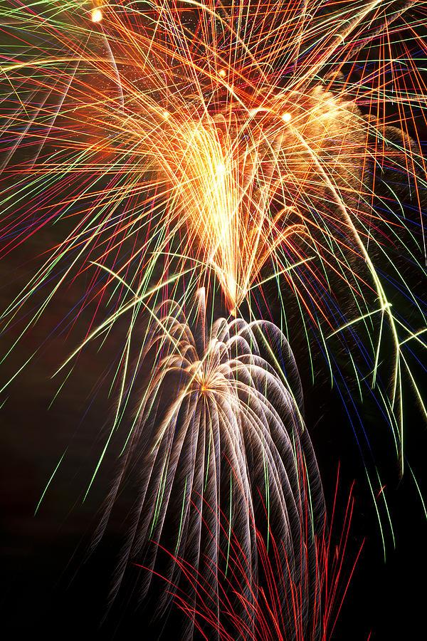 Amazing Fireworks Photograph