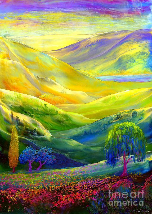 Amber Skies Painting