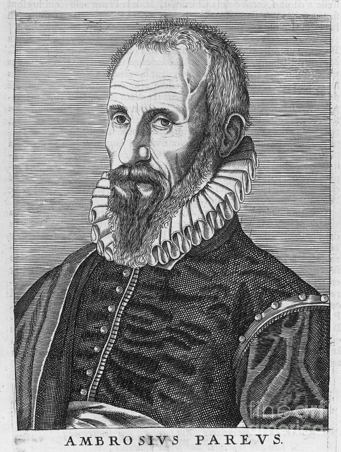 16th Century Photograph - Ambrose Pare (1517?-1590) by Granger