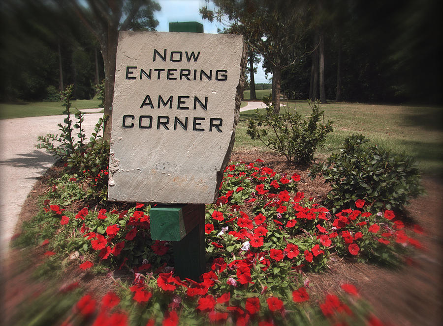 Amen Corner - A Golfers Dream Photograph  - Amen Corner - A Golfers Dream Fine Art Print