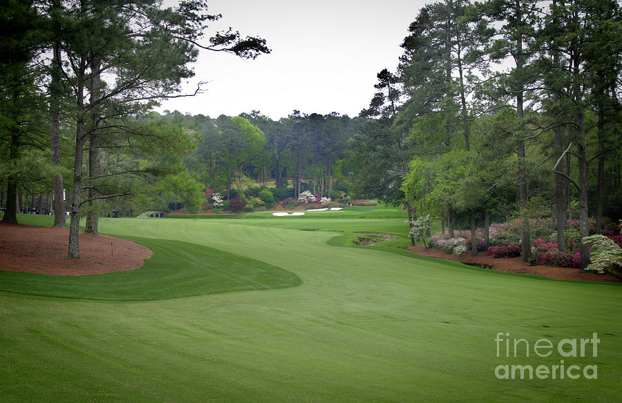 Amen Corner Augusta Golf Painting  - Amen Corner Augusta Golf Fine Art Print