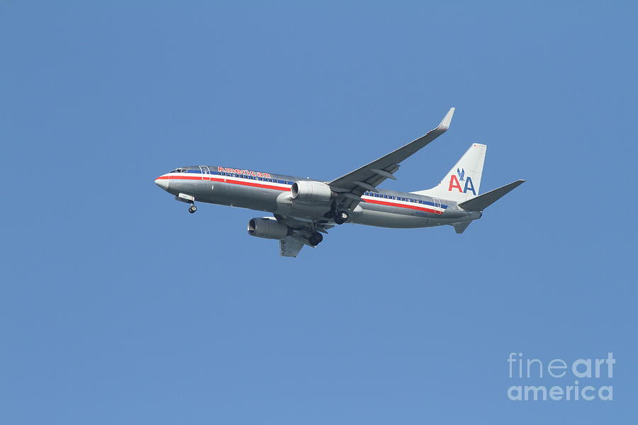 Airplane Photograph - American Airlines Jet 7d21917 by Wingsdomain Art and Photography