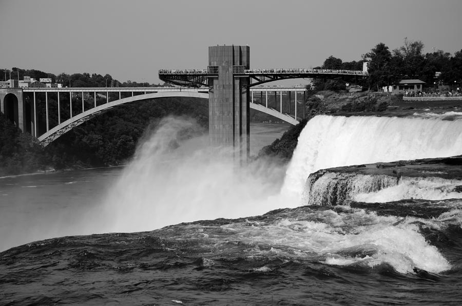 American Falls Viewing Prospect Point Photograph