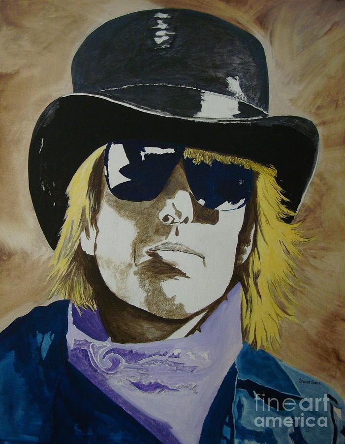 Tom Petty Painting - American Guy by Stuart Engel
