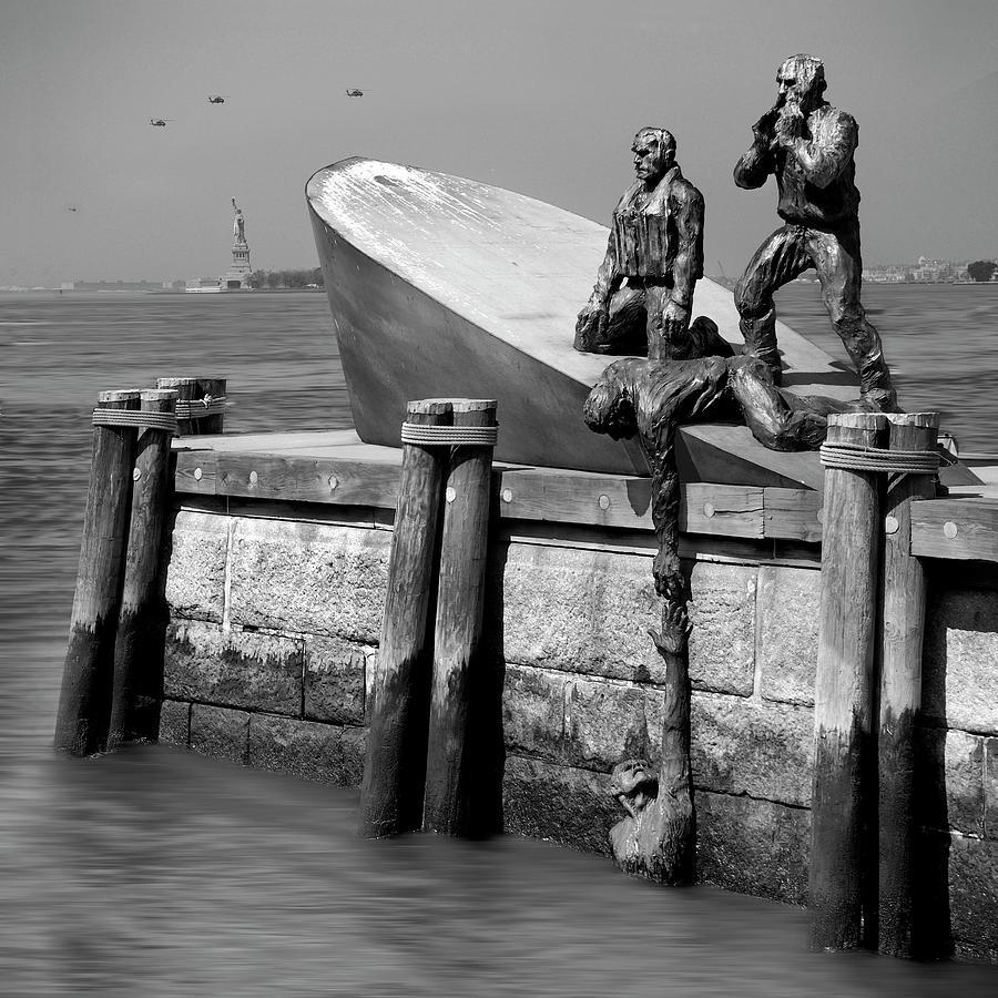 American Merchant Mariners Memorial Photograph