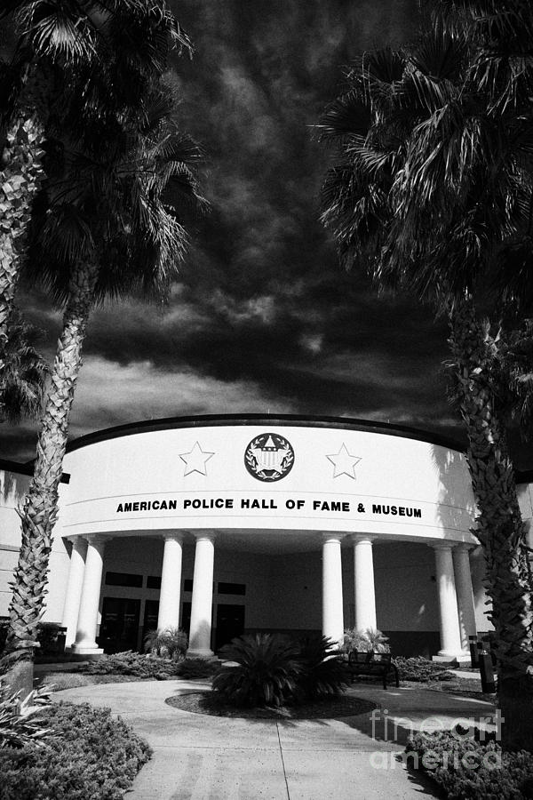 american police hall of fame and museum Florida USA Photograph  - american police hall of fame and museum Florida USA Fine Art Print