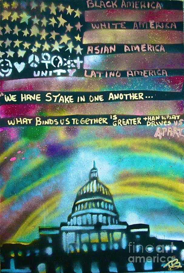 American Rainbow Painting