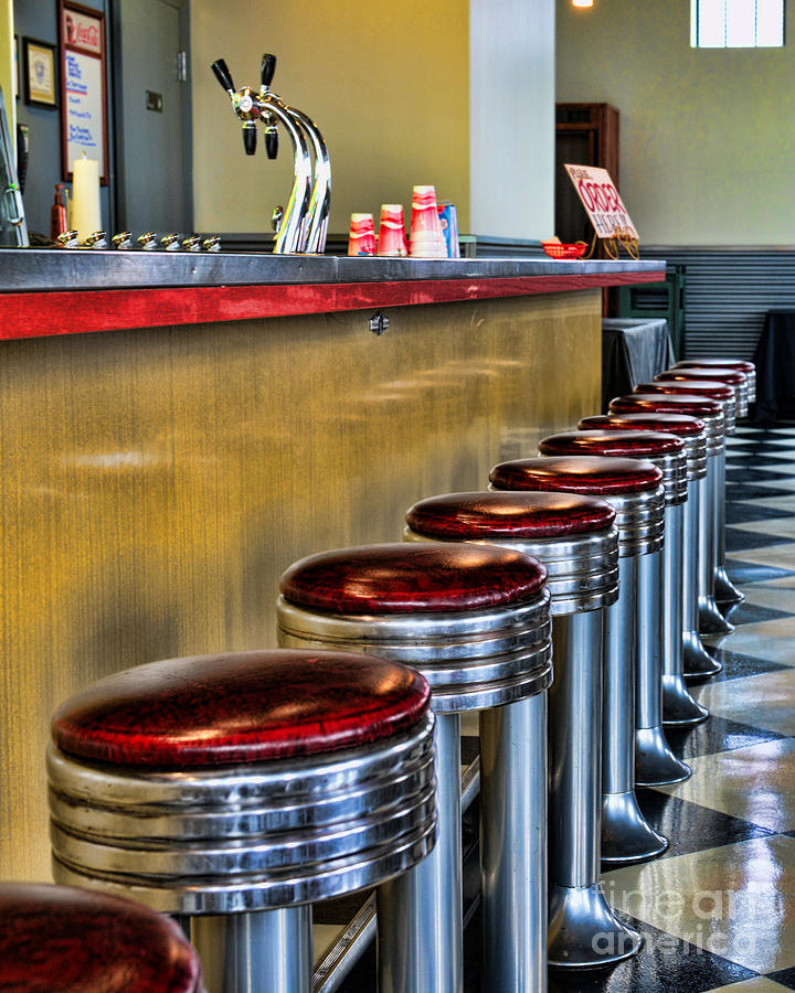 Americana 1950 S Diner Photograph By Paul Ward