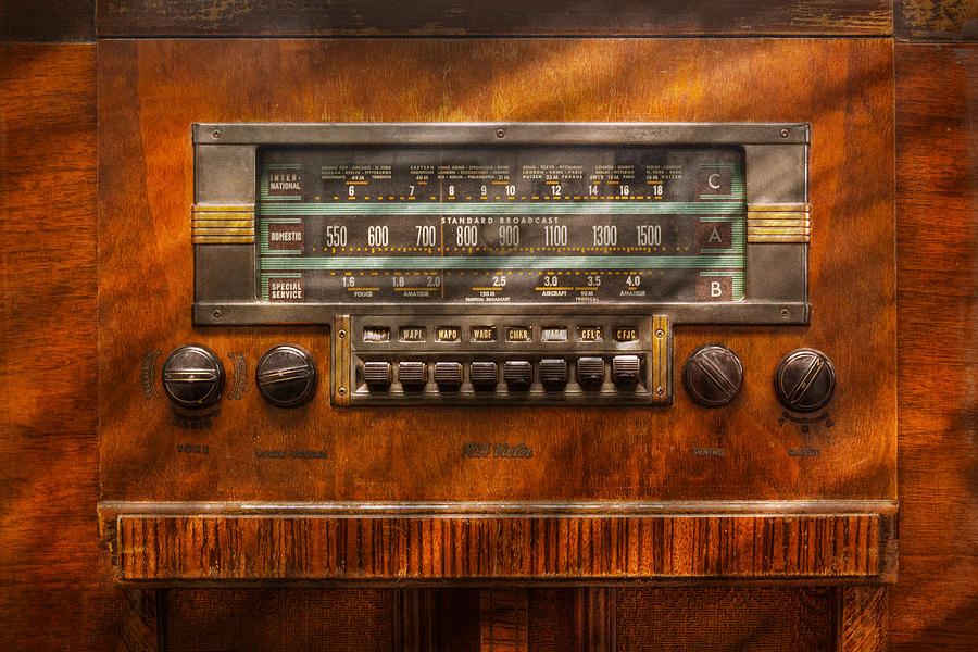 Americana - Radio - Remember What Radio Was Like Photograph  - Americana - Radio - Remember What Radio Was Like Fine Art Print