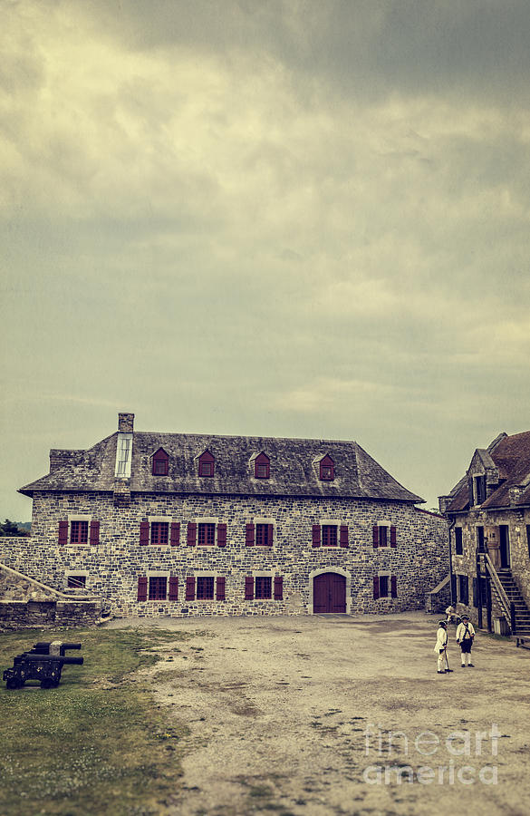 New York Photograph - Fort Ticonderoga by Edward Fielding