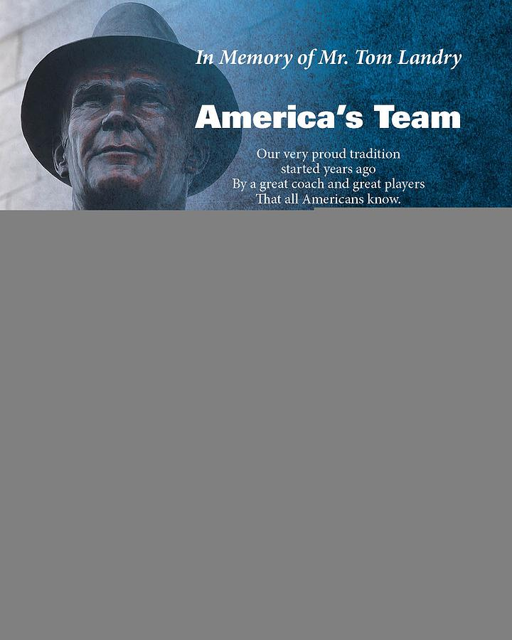 Americas Team Poetry Art Digital Art  - Americas Team Poetry Art Fine Art Print