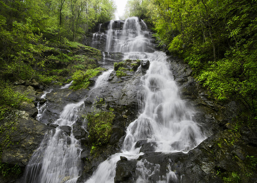 Amicalola Falls is a photograph by Debra and Dave Vanderlaan which was ...