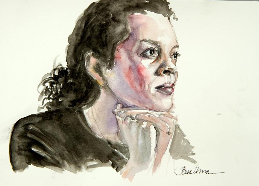 Aminatta Forna Painting