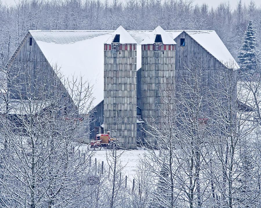Amish Barn Photograph